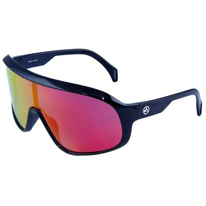Óculos Ciclismo Absolute Nero Preto Brilhante Lente Vermelha