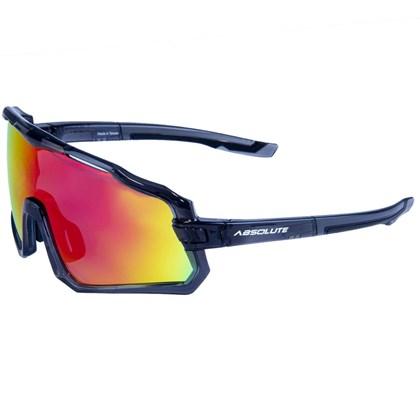 Óculos Ciclismo Absolute Wild Cinza Lente Vermelha