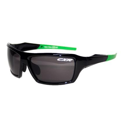 Óculos Ciclismo CXR 6123 Preto Lentes Fume Transparente e Amarela