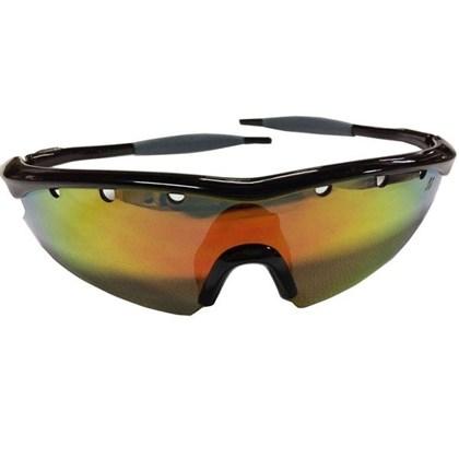 Óculos Ciclismo High One Fusion Preto e Cinza com 3 Lentes