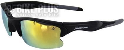Óculos Ciclismo High One Iron Preto e Cinza com 3 Lentes