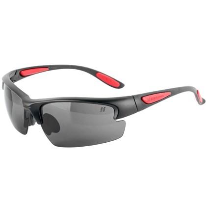 f4e9b0e92eef0 Óculos Ciclismo High One Preto e Vermelho - Bike Plus