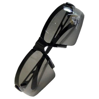 Óculos Ciclismo HSL392 Lente Fume Armação Preta
