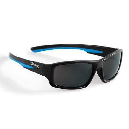 Óculos Ciclismo Infantil Spiuk Bungy Lente Fume Armação Preto e Azul