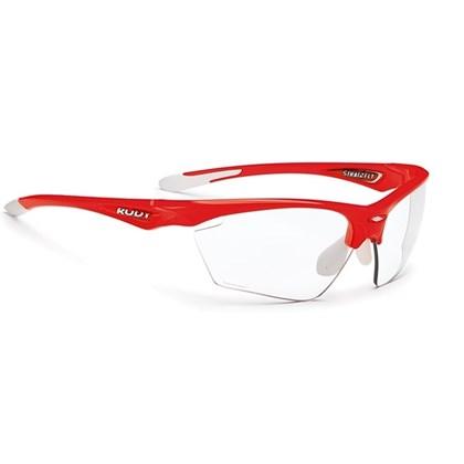 e6e65e87452f2 Óculos Ciclismo Rudy Project Stratoflay Vermelho Fluor Branco - Bike ...