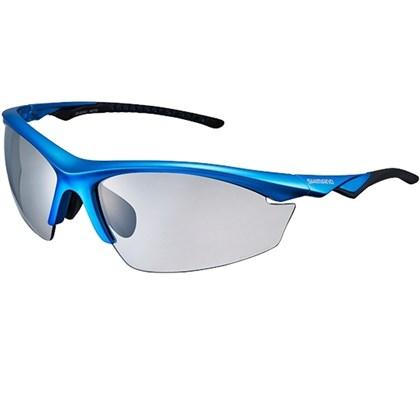 Óculos Ciclismo Shimano CE-EQX2-PH Azul Metálico