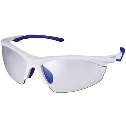 Óculos Ciclismo Shimano CE-EQX2-PH Branco Azul