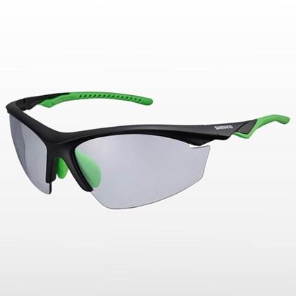 Óculos Ciclismo Shimano CE-EQX2-PH Preto Verde