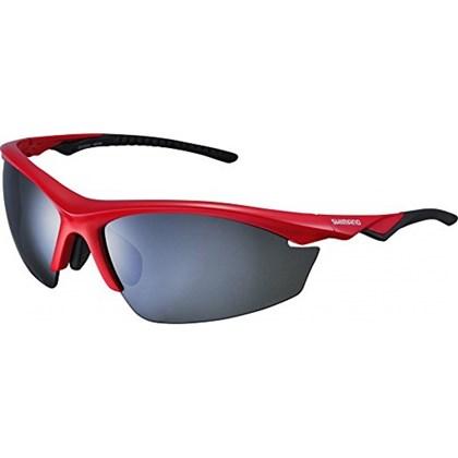 Óculos Ciclismo Shimano CE-EQX2-PL Vermelho