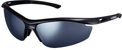 Óculos Ciclismo Shimano CE-S20R Preto Metálico