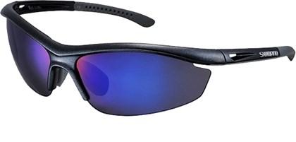 Óculos Ciclismo Shimano CE-S20R Preto Metálico e Cinza
