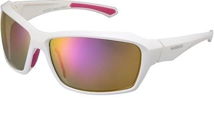 Óculos Ciclismo Shimano CE-S22X Branco e Rosa