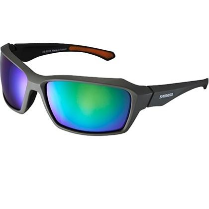 289b458833f88 Óculos Ciclismo Shimano CE-S22X Verde Musgo Fosco - Bike Plus