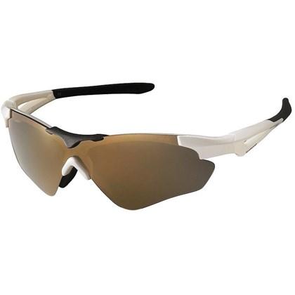 Óculos Ciclismo Shimano CE-S40R Branco Preto