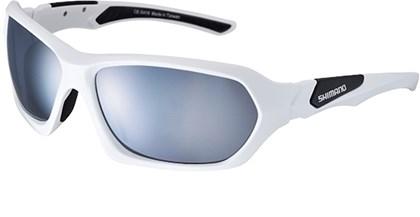 Óculos Ciclismo Shimano CE-S41X Branco e Preto