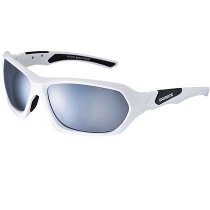 Óculos Ciclismo Shimano CE-S41X Branco e Preto - Bike Plus 05e314698f