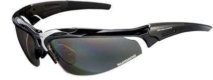 Óculos Ciclismo Shimano CE-S70R Preto metálico