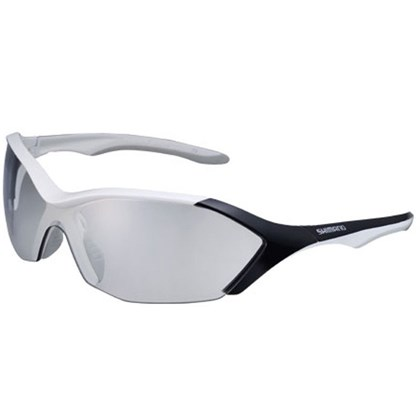Óculos Ciclismo Shimano CE-S71R PH Branco Metálico e Preto