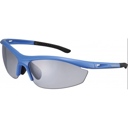 Óculos Ciclismo Shimano S20R-PH Azul Claro e Preto