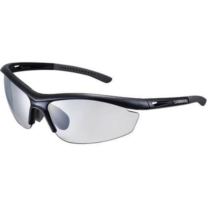 Óculos Ciclismo Shimano S20R-PH Preto e Cinza