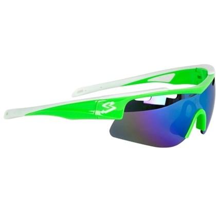 Óculos Ciclismo Spiuk Arqus Lente Azul Espelhado Verde Branco - Bike ... 6ca8925eff