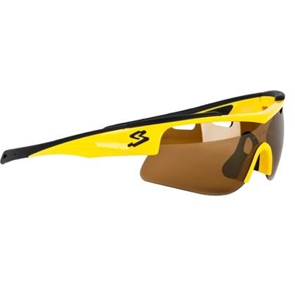 Óculos Ciclismo Spiuk Arqus Lente Flash Gold Amarelo Preto