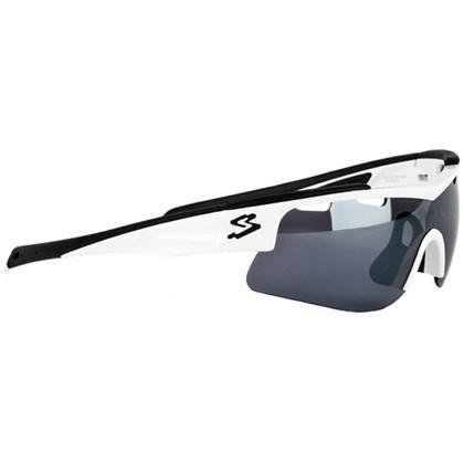 Óculos Ciclismo Spiuk Arqus Lente Humo Flash Branco Preto - Bike Plus 28d6fca71e