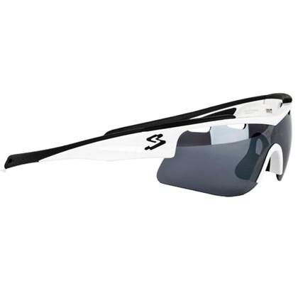 Óculos Ciclismo Spiuk Arqus Lente Lumiris II Branco Preto