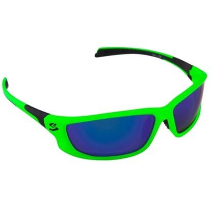 Óculos Ciclismo Spiuk Spicy Lente Azul Espelhado Armação Verde e Preto d4f1fa1474