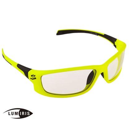 Óculos Ciclismo Spiuk Spicy Lumiris II Armação Amarelo Neon e Preto
