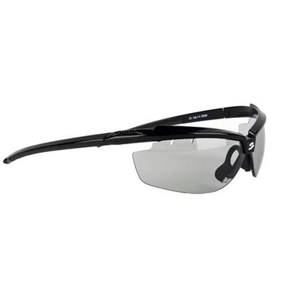 Óculos Ciclismo Spiuk Zelerix Lente Humo Flash Preto