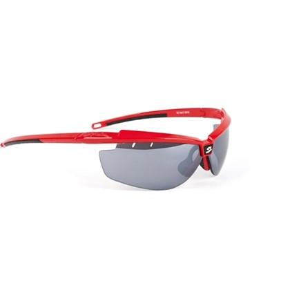 Óculos Ciclismo Spiuk Zelerix Lente Humo Flash Vermelho - Bike Plus a3cafb9786