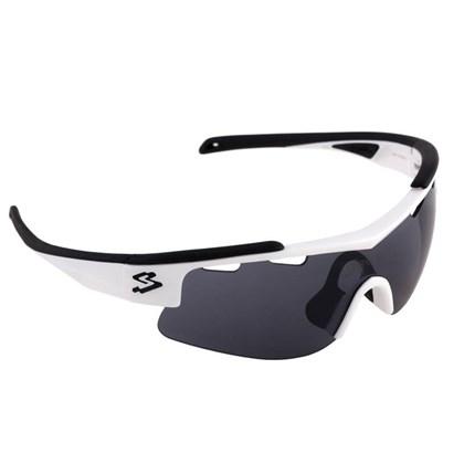 Óculos Spiuk Arqus Flash Lente Fume Armação Preta e Branca