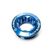 Parafuso Fixação Pedivela Hollowtech Absolute Alumínio Azul