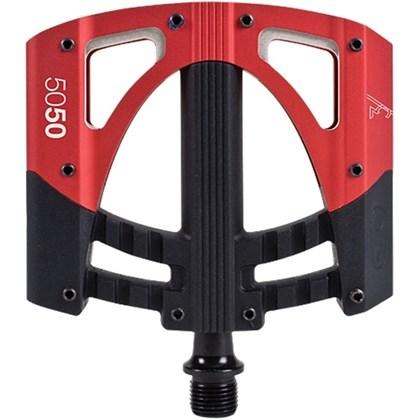 Pedal MTB Crank Brothers 5050 3 Vermelho e Preto