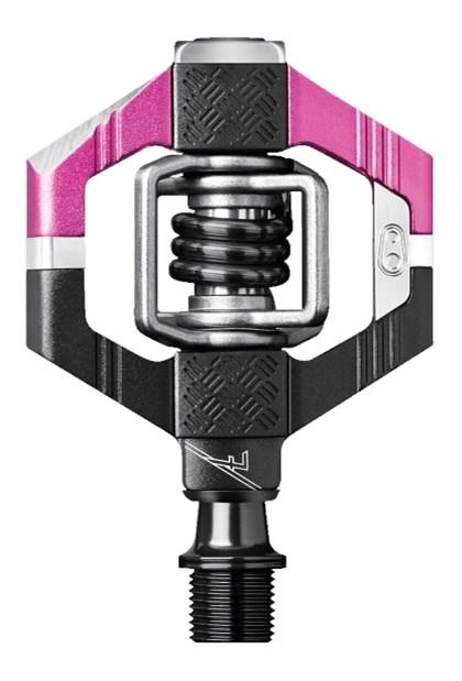 Pedal MTB Crank Brothers Candy 7 Preto e Rosa