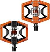 Pedal MTB Crank Brothers Double Shot Laranja e Preto