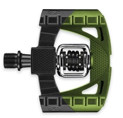 Pedal MTB Crank Brothers Mallet 1 Preto e Verde