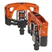 Pedal MTB Crank Brothers Mallet 2 Preto e Laranja