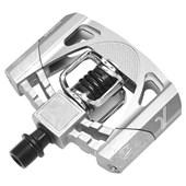 Pedal MTB Crank Brothers Mallet 2 Preto e Prata