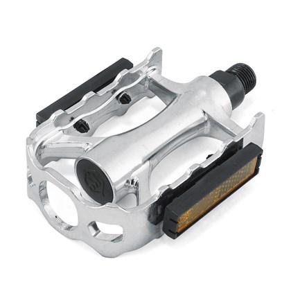 Pedal MTB Metalciclo Alumínio 9/16 Polido