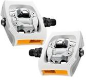 Pedal MTB Shimano Plataforma PD-T400 Branco