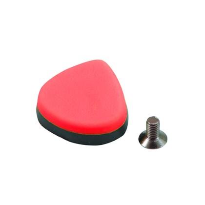 Placa Antiderrapante Para Sapatilha Spiuk Vermelha