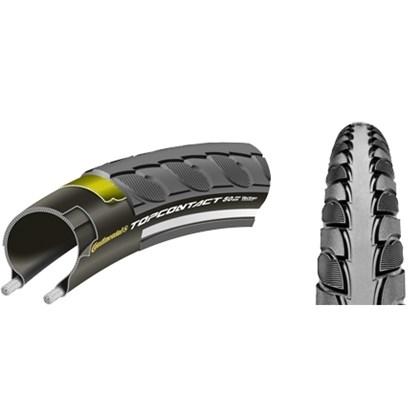Pneu Bike Continental Topi Contact 2 - 700 X 42 Ciclismo e MTB