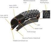 "Pneu Bike Continental X-king Protection 29"" X 2.2 MTB"