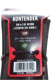 Pneu Bike Kenda Kontender 26 X 1.0 MTB