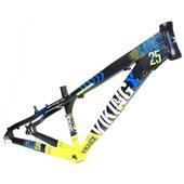Quadro de Bike Freeride Alumínio Viking X Dirt Jump Tuff X25 Preto aro 26