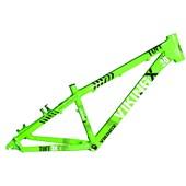 Quadro de Bike Freeride Alumínio Viking X Dirt Jump Tuff X30 Verde Neon aro 26
