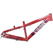 "Quadro de Bike Freeride Alumínio Viking X Warrior Aero X29 aro 26"" Vermelho"