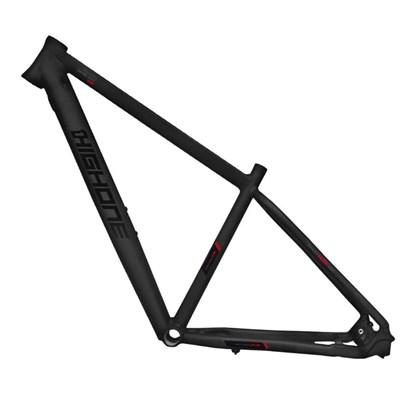 Quadro de Bike MTB Alumínio High One Icon aro 29 Preto e Vermelho